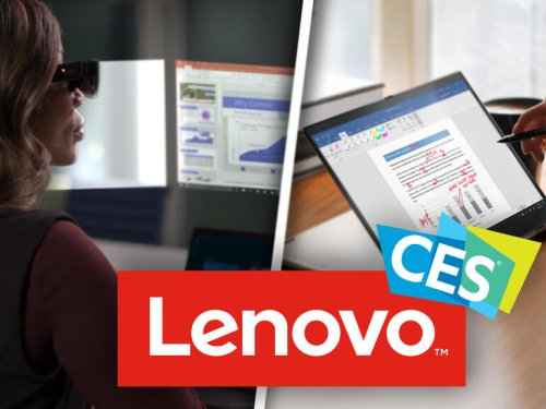 Lenovo focuses on surprising new trends for the enterprise at CES 2021