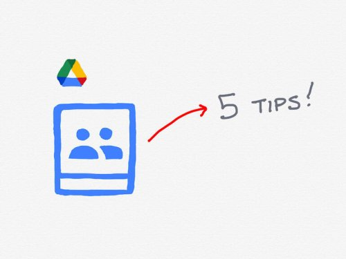 5 tips to help your team make the most of Google Drive Shared drives