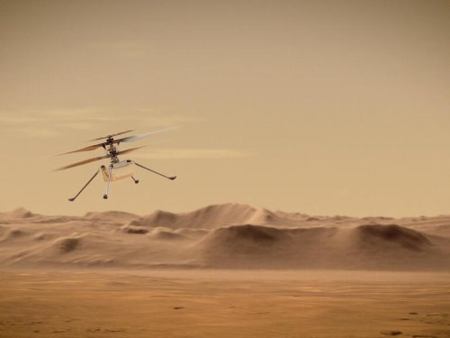 Photos: Mars helicopter set to take its maiden flight on the Red Planet