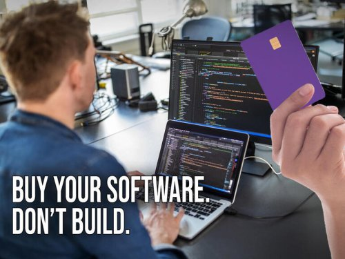 Why you should buy, not build, software: 5 reasons