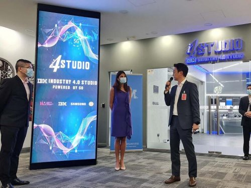 New 5G and AI studio opens as part of collaboration with IBM, Samsung and M1
