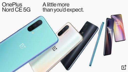 OnePlus Nord CE 5G – OnePlus baut die Nord-Reihe aus