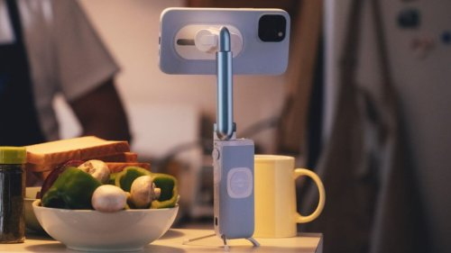 PowerVision S1 – Mini Smartphone-Gimbal mit Qi-Ladefunktion