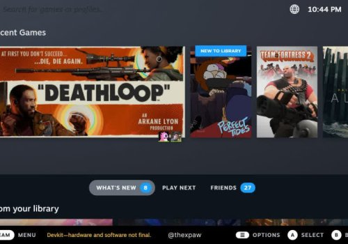 Here's what Steam's Big Picture mode will look like once the Steam Deck UI replaces it