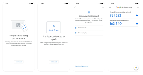 Google Authenticator for iOS gets a new look and a bulk account export feature