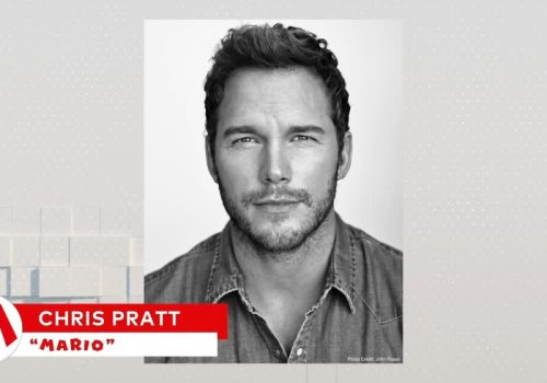 Chris Pratt will play Mario in next year's Super Mario Bros. movie