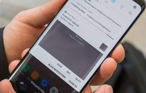 How to take a screenshot on a Samsung Galaxy or Note phone | techzerg