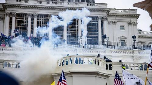 PHOTOS: Trump Supporters Break Into Capitol Building, Wreak Havoc