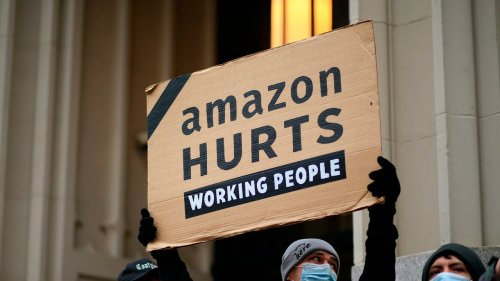 Amazon Fights to Stop Alabama Workers From Forming A Union - cover