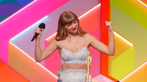 Taylor Swift's Brits Outfit Has Fans Speculating About the Next Taylor's Version