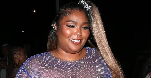 Lizzo Responds to Negative Comments About Her See-Through Dress