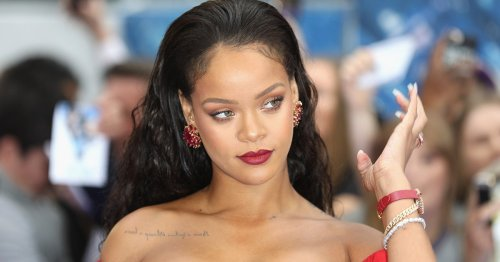 """Rihanna Debuts Red-Tipped Manicure While Responding to """"RHONY"""" Reference"""