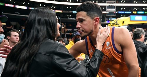 Kendall Jenner and Devin Booker Shared Their First Public PDA Moment