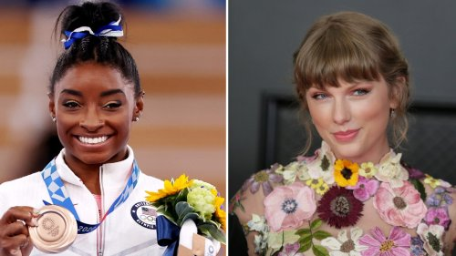 """Simone Biles Cried After Taylor Swift Narrated Her Story With """"This Is Me Trying"""""""