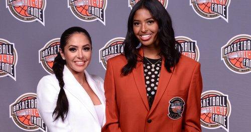 Kobe Bryant Inducted Into Basketball Hall of Fame; Vanessa, Natalia Honor His Memory