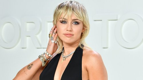 """Miley Cyrus Poses Topless on the Cover of """"Interview"""" Magazine"""