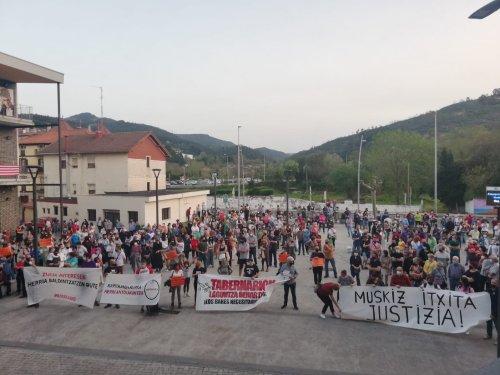 Vecinos de Muskiz piden justicia