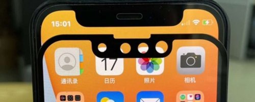 iPhone 13 e iPhone 12: notch a confronto (FOTO)