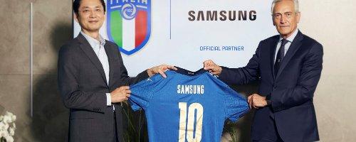 Samsung agli Europei con la Nazionale Italiana