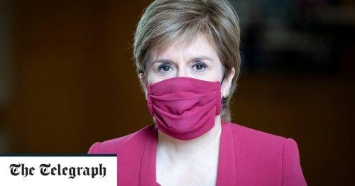 Nicola Sturgeon blames UK border controls as she delays Scotland's lockdown release date