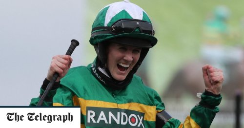 Grand National 2021: Rachael Blackmore makes history on Minella Times