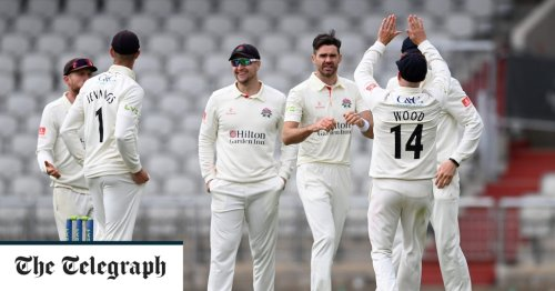 James Anderson lays down early Ashes marker by making short work of Glamorgan's Marnus Labuschagne