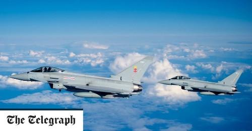 Sonic boom heard as RAF fighter jets scramble to intercept private plane over London