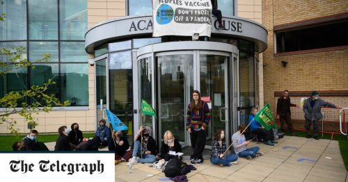 Coronavirus latest news: 'People's Vaccine' protesters clash with police at AstraZeneca HQ