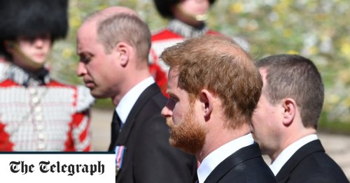 Reunited in grief: How Prince Harry spent a golden hour talking with his family