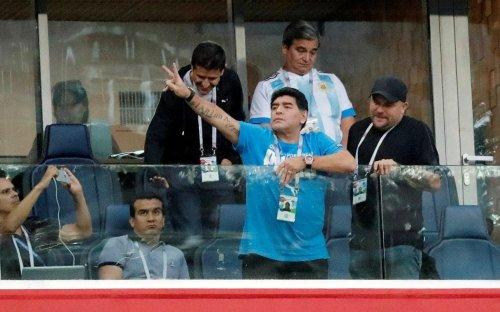 Diego Maradona's role as paid ambassador for Fifa comes under scrutiny following boorish behaviour