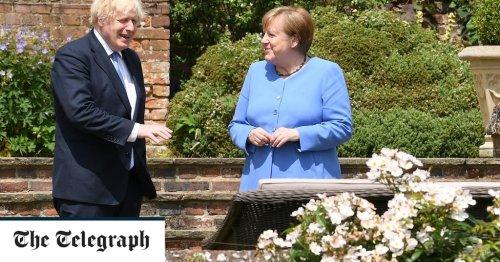 'Wurst is behind us': Boris Johnson and Angela Merkel signal progress on sausage wars
