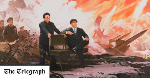 Kim Jong-il painted like Christ: the curious case of the North Korean art show