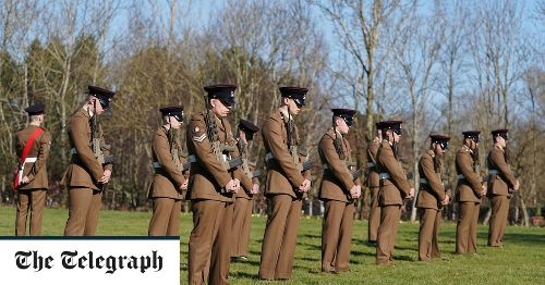 Captain Sir Tom Moore's funeral, in pictures