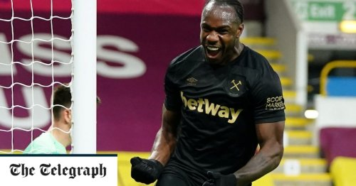 Michail Antonio fires West Ham back into Champions League contention with double to down Burnley