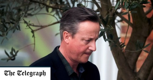 David Cameron dropped from promoting children's parliament due to reputational damage