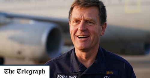 Vice Admiral who led Kabul evacuation named new head of the Royal Navy