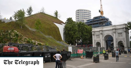 £2m Marble Arch Mound labelled a 'hill of rubble'