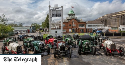 Bentley celebrates the centenary of its first race win