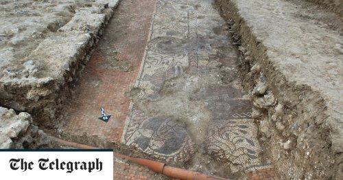 'Most exciting Roman mosaic for 50-years' is discovered during community dig in Berkshire