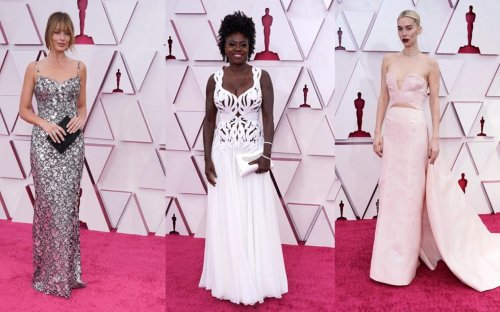 Oscars 2021 red carpet: Margot Robbie, Viola Davis and Emerald Fennell lead the best dressed
