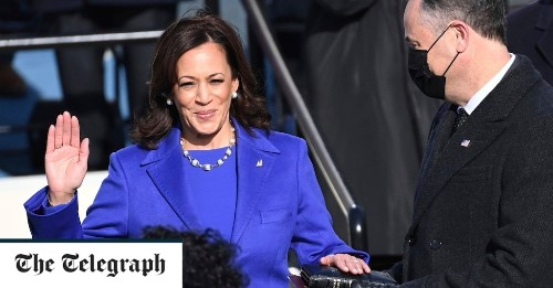 This historic inauguration was all about Kamala Harris