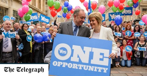 In spite of the independence plan is the civil war between Sturgeon and Salmond damaging SNP support?
