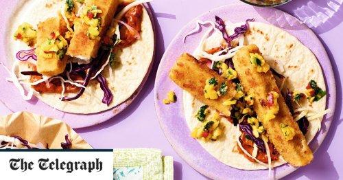 Fish-finger tacos recipe