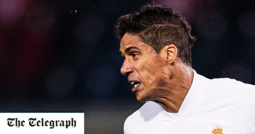 Manchester United hoping to strengthen central defence with Raphael Varane
