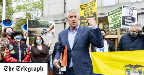 Lawyer who won Ecuador oil case against Chevron back in court fighting 'most vicious corporate counterattack in US history'