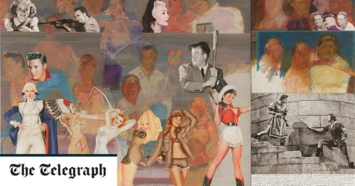 Peter Blake clearly had fun with these jolly and inventive collages
