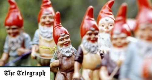 Garden gnomes may be the ultimate symbol of bad taste – but we can't resist them