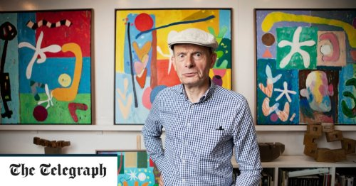 Andrew Marr interview: 'In painting, I feel complete – and there's no BBC line to follow'