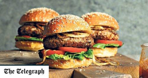Turkey and apple burgers recipe