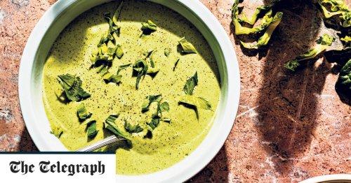 Lovage and potato soup recipe